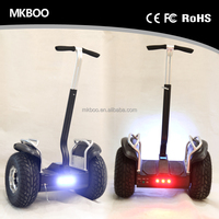 two wheel 19 inch inflatable 2 wheel stand up electric scooter with handle Self Balancing Smart Electric Scooter with hand bar