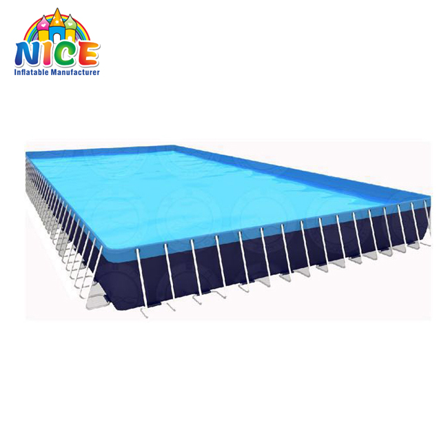 Factory Price Inflatable pool Large Above Ground Metal Frame Swimming Pool
