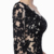 Hot Sale Sexy Black Long Sleeve Floor Length One Shoulder Lace Women Prom Dress