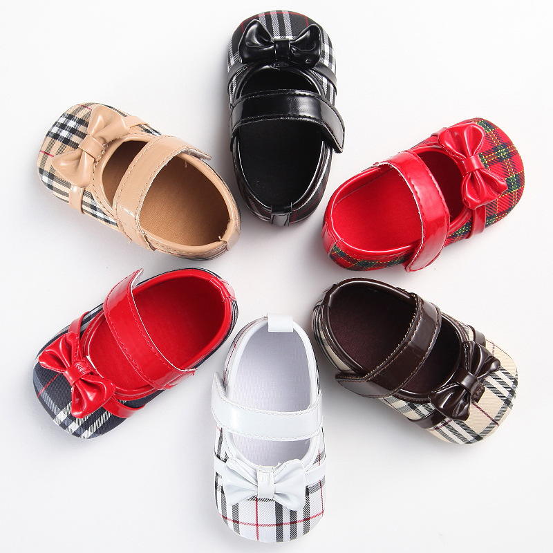 1PCS Drop Shipping Autumn 27 Colors Loli Baby Shoes Toddler Shoes Sparkly Girls Newborn Shoes Babies