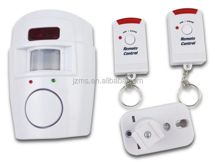 Home Security IR Wireless Door Remote Motion Sensor Detector Alarm Infrared With 2 Remote Control