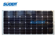 Suoer China supplier cheap solar system home 18V 120w 12V solar panel