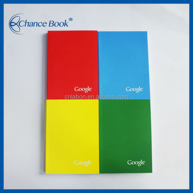 A6 Softcover Full Color Printing Colorful Notebook Notepad