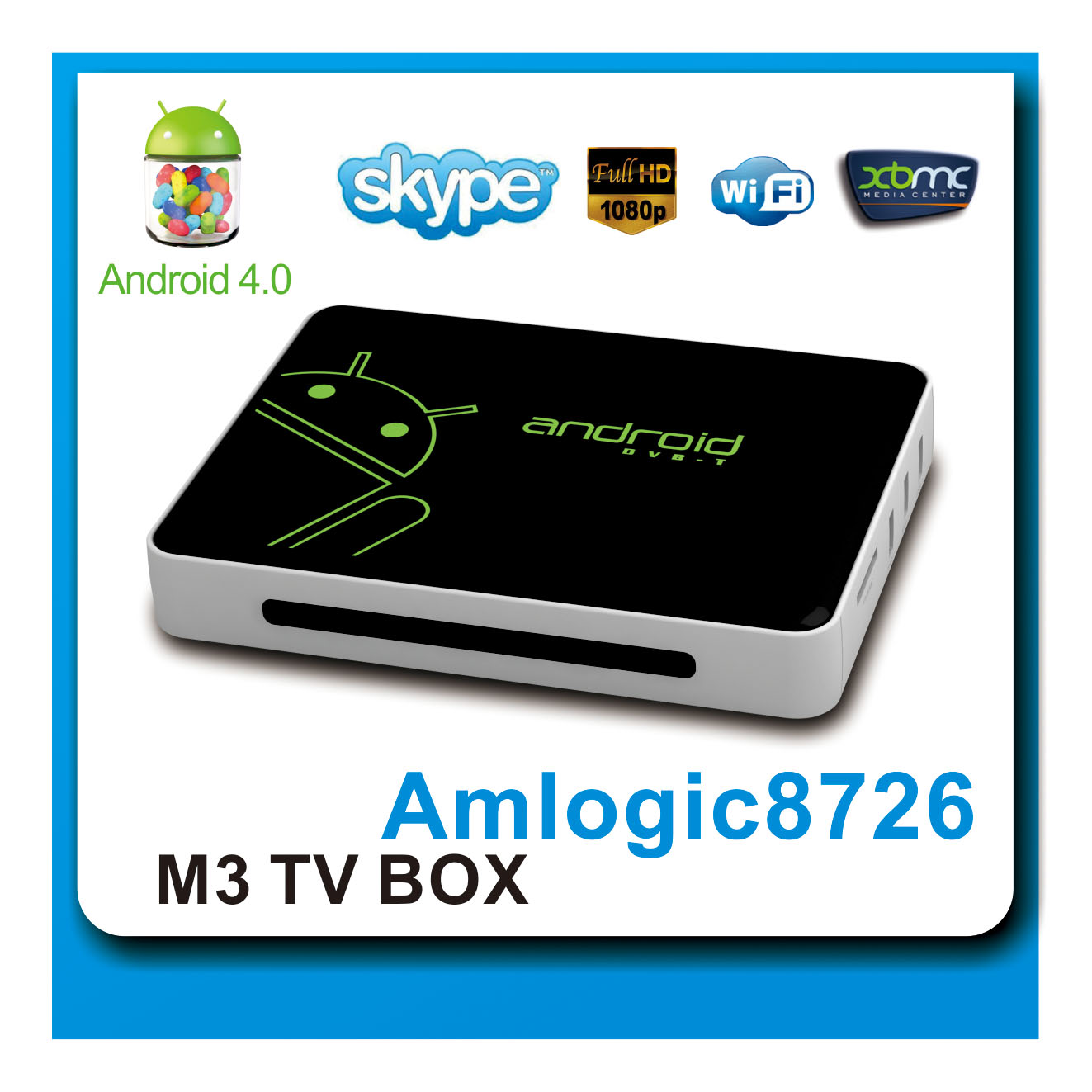 2013 new arrival google android dvb-t smart box with HDMI adaptor,A/V Cable,Air