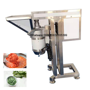 Industrial 500kg/h onion paste machine minced onion cutting machine made in China