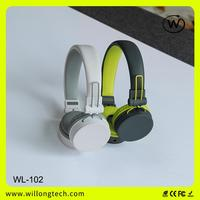 high quality gaming earphones for headband corded cell phone headset with mic