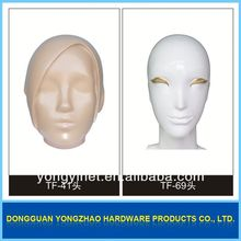 wholesale mannequin!!mannequin heads with hair on sale