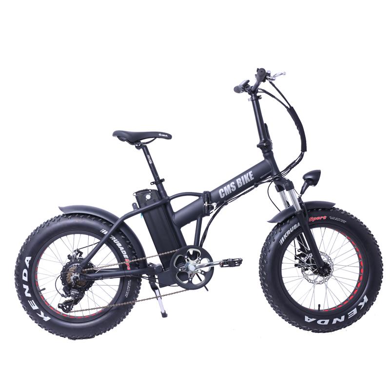 fat tire foldable electric bike 20 mountain folding e bike 500w big power fat electric bike