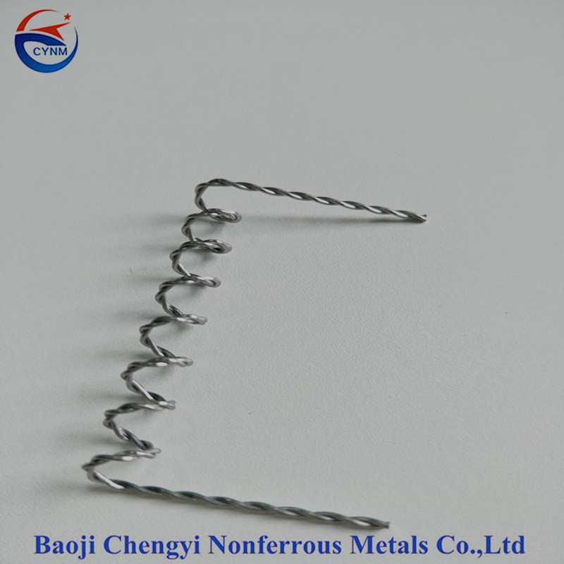 99.95% Tungsten wire heating element for PVD application with good price
