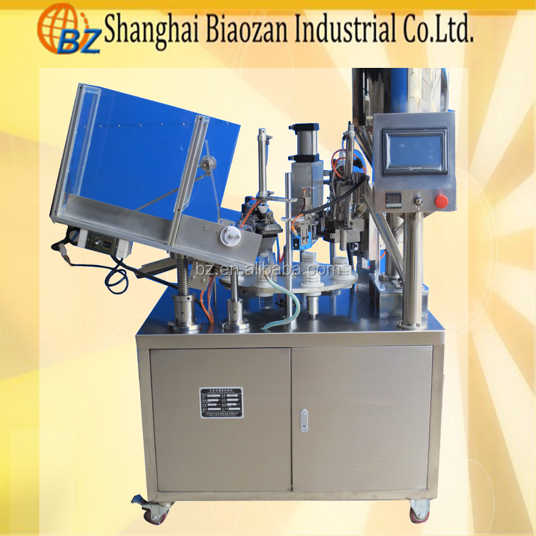 full automatic tube filling sealing machine/equipment for soft tube