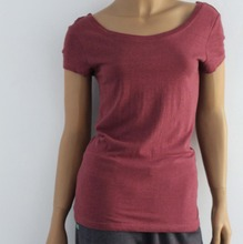 OEM eco-friendly plain hemp t shirts organic cotton wholesale china supplier