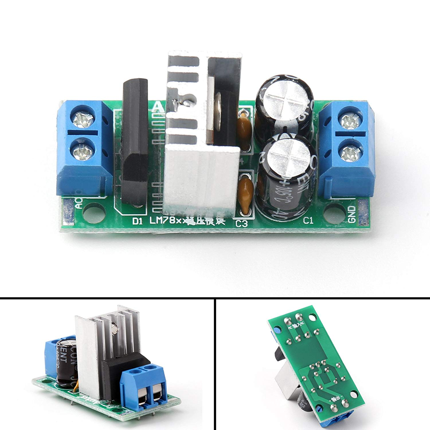 Cheap Ic 7805 Find Deals On Line At Alibabacom Pin Configuration And Voltage Regulator Circuit Get Quotations Areyourshop 1pcs L7805 Lm7805 5v Regulated Power Supply Three Terminal Module