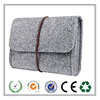 Portable Soft Wool Felt Storage Bag for Mouse ,cables ,cellphones