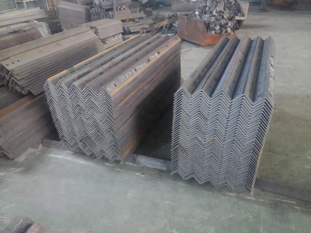 Tension / Straight Galvanized angle Steel Cross Arm , steel angle