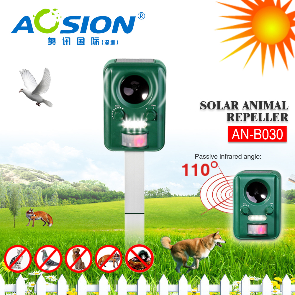 Aosion Eco-friendly Multifunction animal repeller for outdoor use