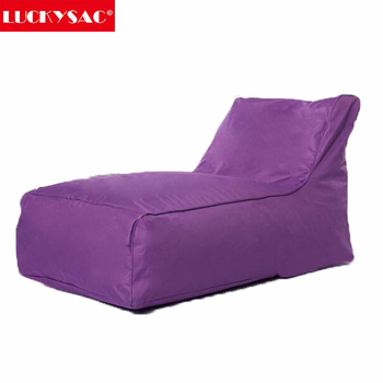 L Shape Large Sofa Bean Bag Outdoor Water Resistant Lounge Chair