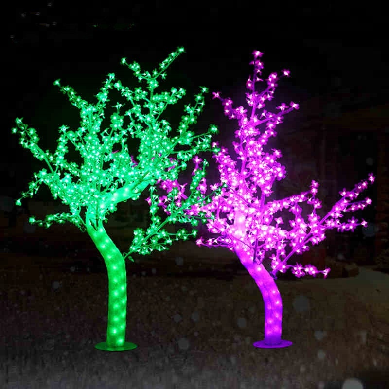 Wholesale artificial crystal christmas tree led <strong>PE</strong>&PVC christmas tree for decoration