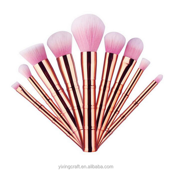 b89dd36d058 2017 Best Selling Products Pink Bamboo Shape Sonia Kashuk Makeup Brushes