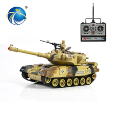 hot item infrared 360 degree tower rotation rc toy big toy tank for sell