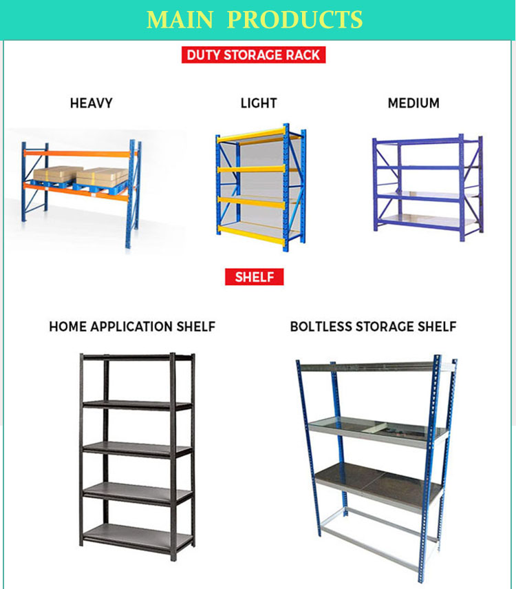 Industrial Storage Angle Steel Shelf