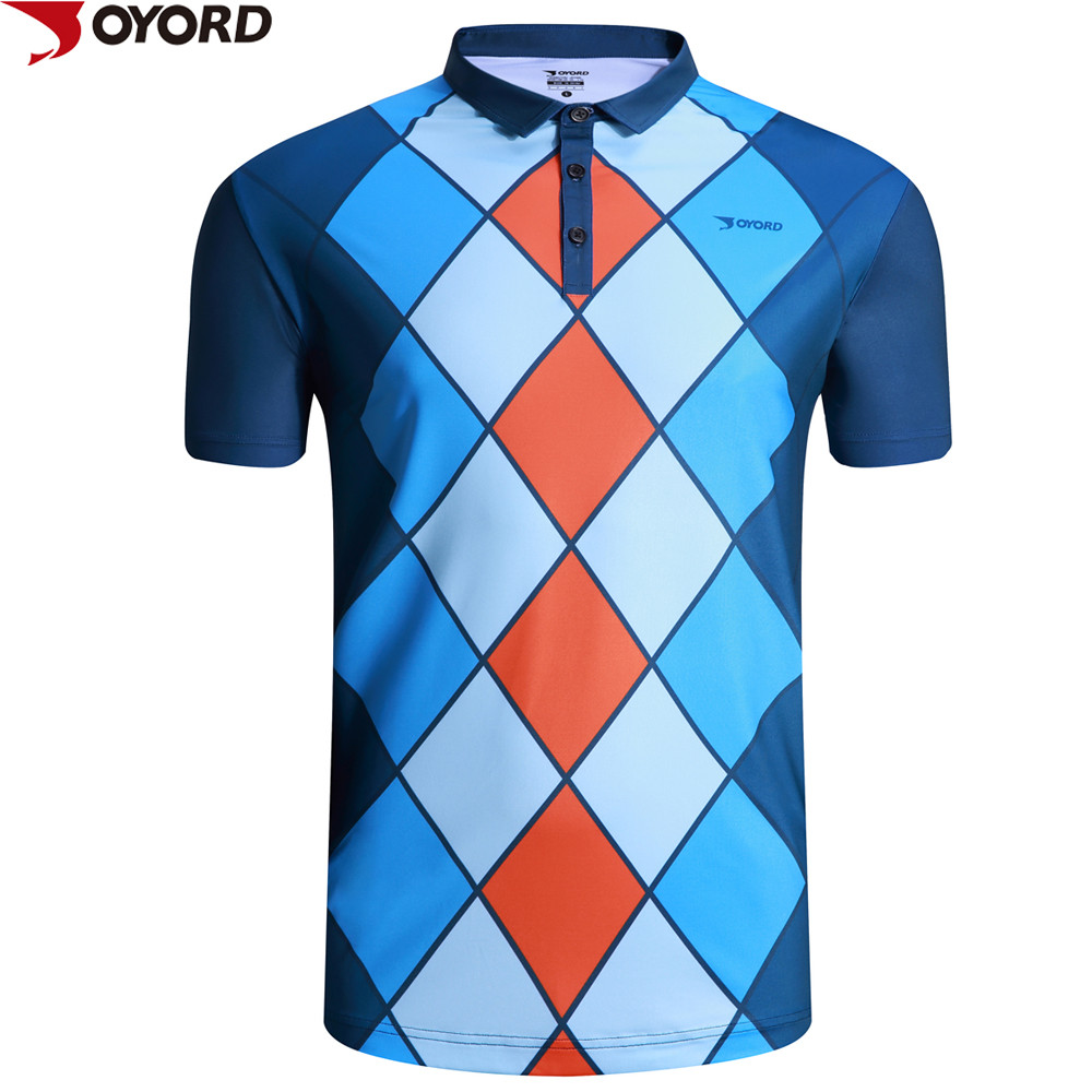 Polyester spandex sublimation custom polo t shirt buy for Custom polyester polo shirts