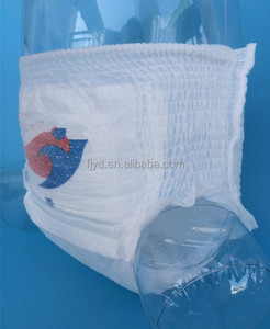 Disposable non woven fabric sleepy baby training pants diapers for sale