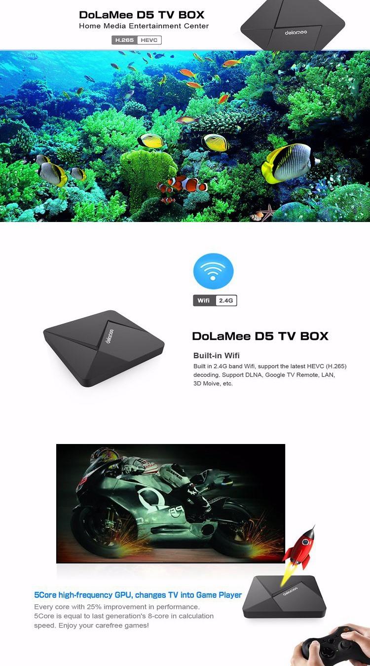 Dolamee D5 Custom Firmware