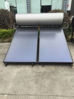 Domestic integral flat plate solar water heater