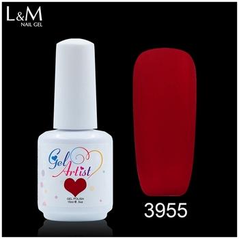 L&m Nail Supplies Wholesale Free Sample Uv Gel Nail Polish Red Matte ...