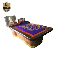 Deluxe Casino Professionele Gokken <span class=keywords><strong>Roulette</strong></span> Tafel met Custom Layout