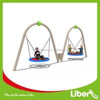 New Cheap 2 person seat Toddler Backyard Amusement park designer modern outdoor swing