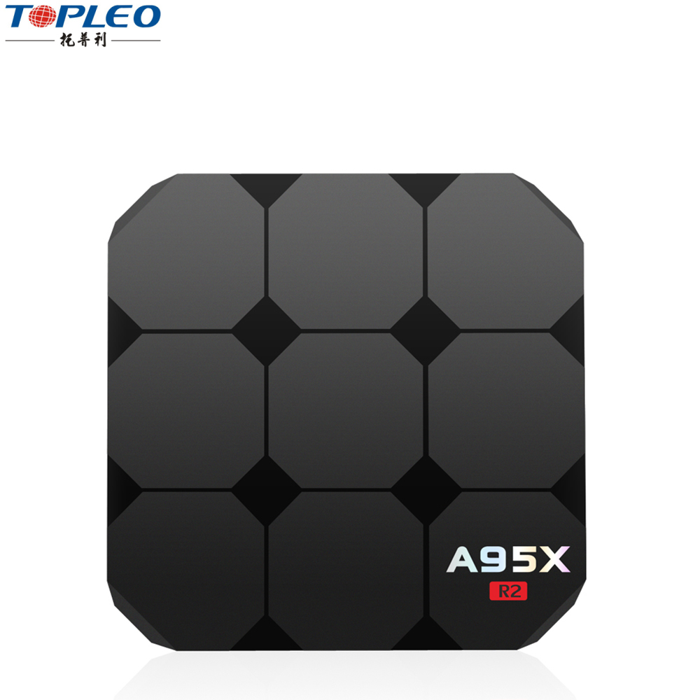 Latest Android TV box A95X R2 Support HDR Rockchip RK3328 Quad-core CPU newest Android 7.1 Nougat Operation System