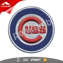 Hot Selling Customized Hand Embroidered Cubs Patch for Shirts
