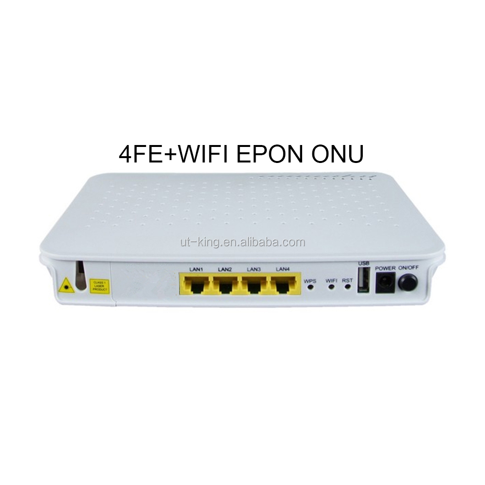 Best Price 4FE +WIF EPON ONU for FTTH Network