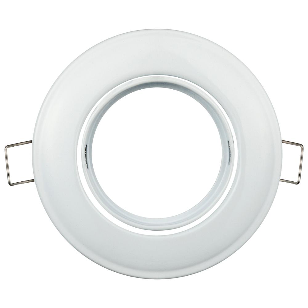 Recessed Ceiling White LED Spot Trim Ring Halogen Bulb Replacement LED Spotlight Frame Light Fixture