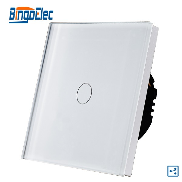Touch panel light switch 2 way