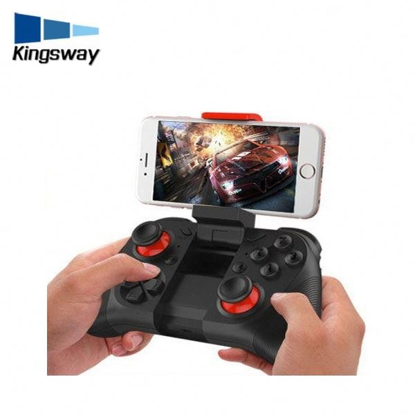 2017 PP GUN Phone Wireless Bluetooth joystick Game Controller with gyroscopic gamepad M050 For iOS Android PC