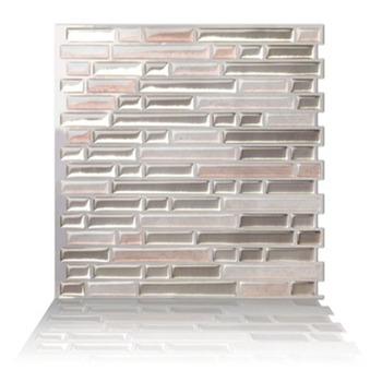 Self Adhesive Metal Mosaic Stickers Kitchen Backsplash Bathroom L And Stick Wall Tile Sticker Home Diy Decor On Gl