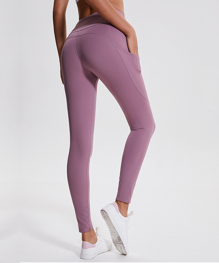 Amazon hot womens workout capri yoga pants with pockets gym legging high waisted fitness legging wear фото