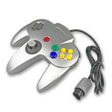 For Nintendo Dropship N64 Game Silver Joypad