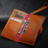 Fashion design wallet case for iphone 5c , for iphone 5c crazy horse leather wallet case , phone case bag cover 2014 newest