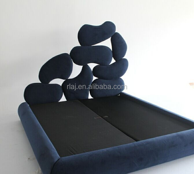 Commercial furniture general use and fabric material office furniture king bed