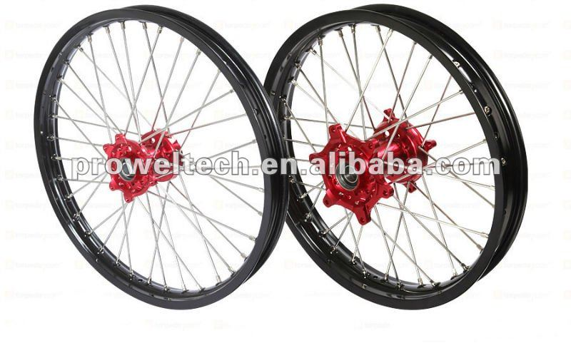 MX motorcycle spoke wheels/Kawasaki wheels