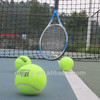 high quality competition tennis ball making with custom logo
