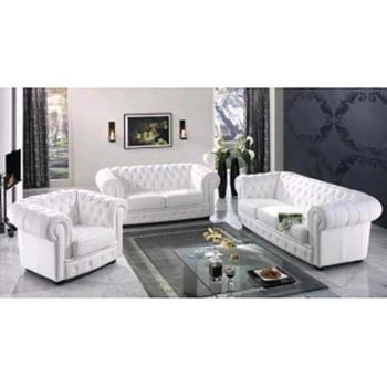 2017 Modern Luxury White Chesterfield Sofa For