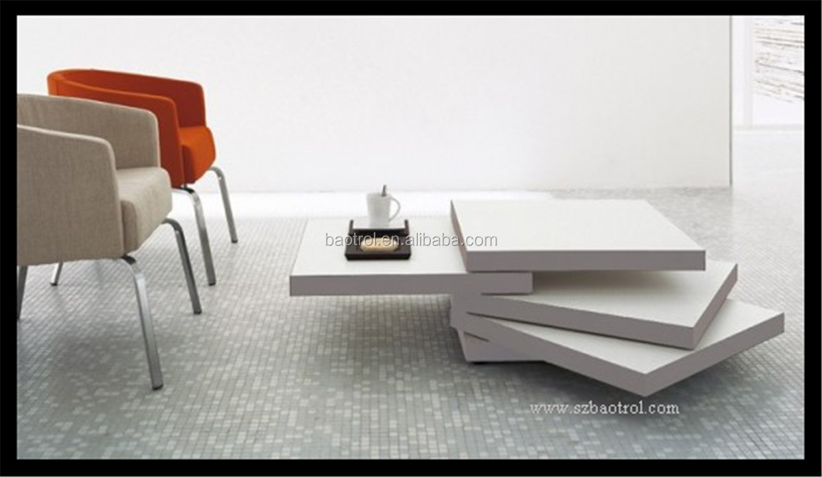 nieuwste ontwerp zuiver wit theetafel marmeren blad thee tafel ...