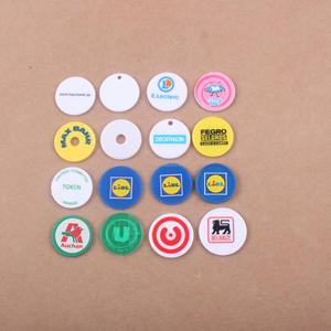 2018 BSCI SGS Cheap eco friendly Custom plastic coins