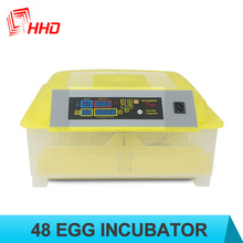 Cheap price capacity 48 chicken eggs incubator hatcher/poultry chicken bird duck turkey quail goose egg incubator