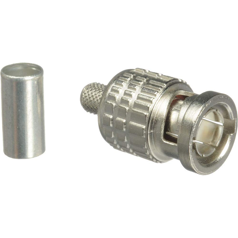 Canare BCP-B4F 75 Ohm BNC Crimp Plug (for L(S)-4CFB/ L-4CHD/ 1505A)-by Canare