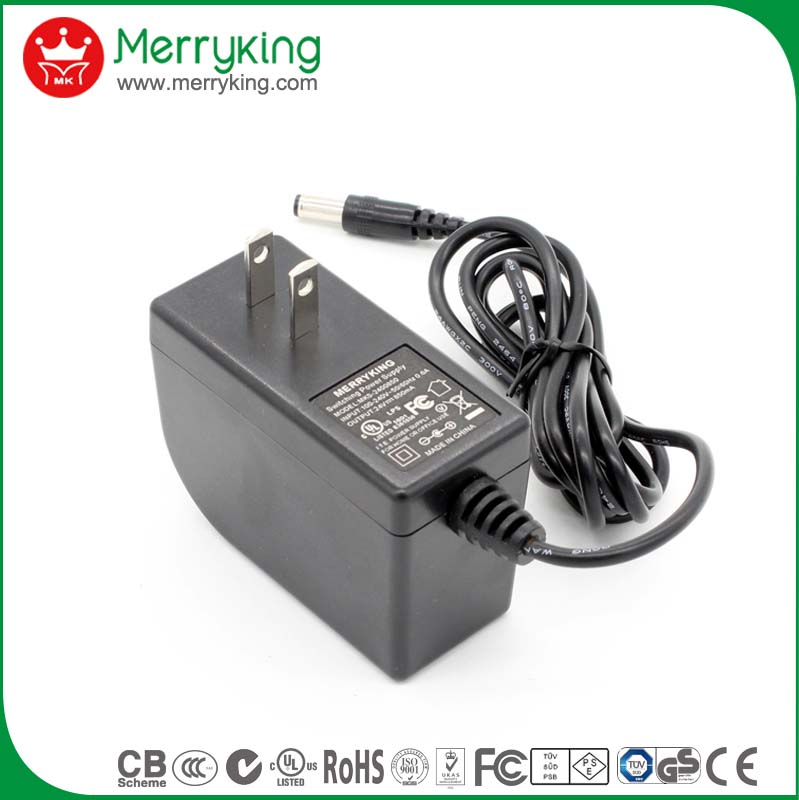 0.6a Max 50/60HZ ac dc adapter 16v 1500ma power supply with SAA KC PSE UL CE